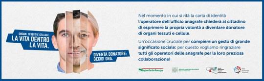 banner donazione organi