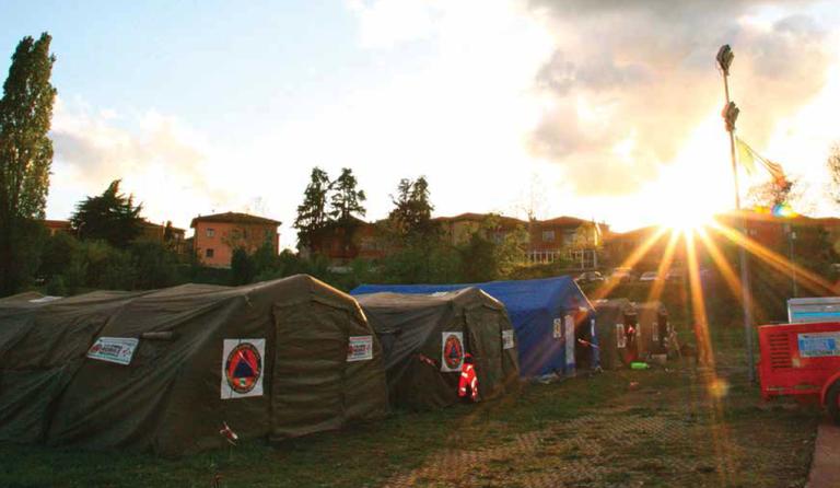 Campo emergenza
