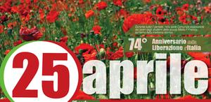 25 aprile - 74° Anniversario della  Liberazione