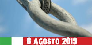 8 agosto 2019 - Giornata nazionale del sacrificio del lavoro italiano all'estero