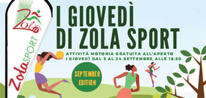 """""""I giovedì di ZolaSport"""" September edition: Workout di Danza - Centro Danza Buratto"""