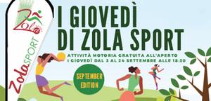 """I giovedì di ZolaSport"" September edition: Ginnastica Ritmica - Unione Sportiva Zola"