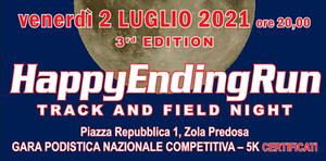 HappyEndingRun - Track and Field Night - terza edizione
