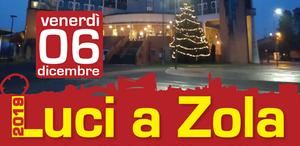 Luci a Zola: accensione dell'Albero di Natale e delle luminarie