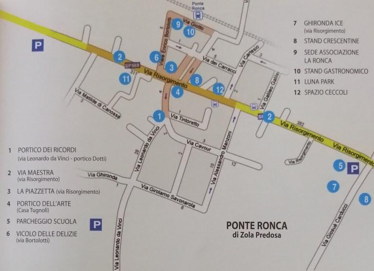 mappa della festa