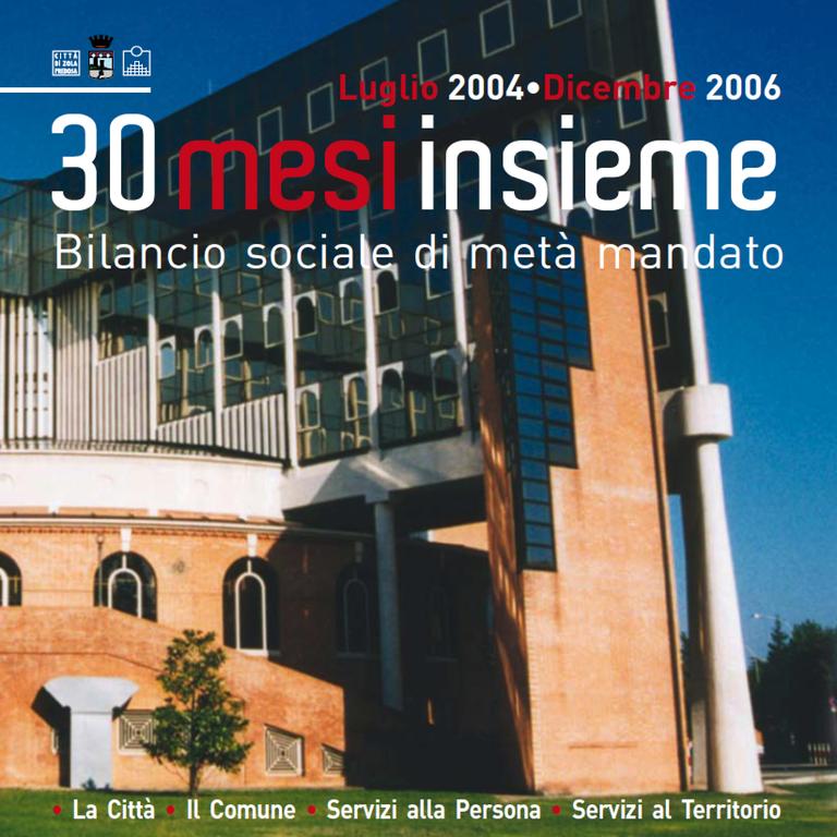 """""""Luglio 2004-dicembre 2006: 30 mesi insieme"""" -  2007"""