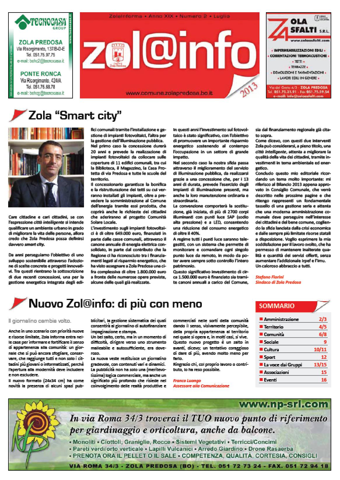 Zola Informa n. 2/13