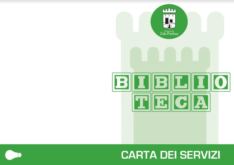 carta dei servizi biblio