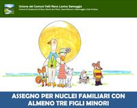 Assegno Nucleo Familiare Numeroso con almeno tre figli minori: domande fino al 31 gennaio 2022