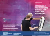 Nuovo Corso IFTS - Tecnico della Programmazione e del Collaudo di Macchine Automatiche. In avvio novembre a 2021